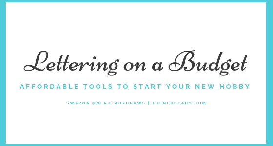 Handlettering On A Budget Affordable Tools To Start Your New Hobby The Nerd Lady Black watercolor font alphabet (png transparent). handlettering on a budget affordable