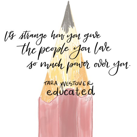 Educated by Tara Westover quote.
